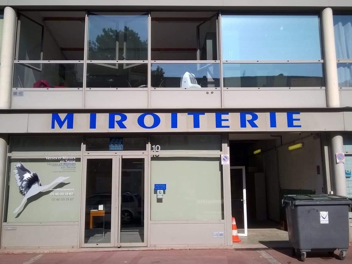 Miroiterie Clamart destiné croce costa afv, atelier de miroiterie à boulogne-billancourt, verre